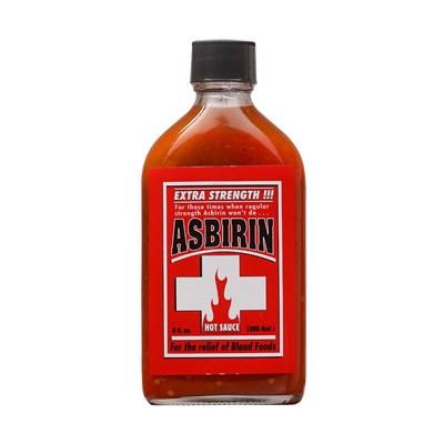 Asbirin Extra Strength Hot Sauce
