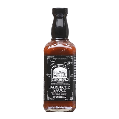 Historic Lynchburg Tennessee Whiskey Fiery Hot Barbecue Sauce 151 'Poof'