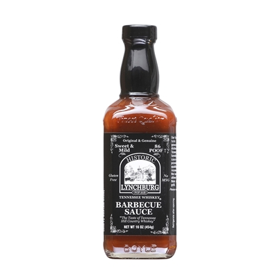 Historic Lynchburg Tennessee Whiskey Sweet & Mild Barbecue Sauce 86 'Poof'