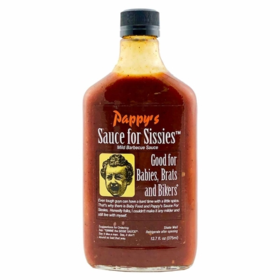 Pappy's Sauce for Sissies Barbecue Sauce