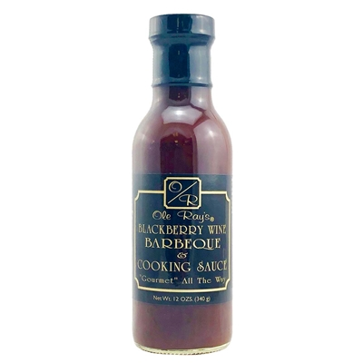 Ole Ray's Blackberry Wine Barbecue and Cooking Sauce