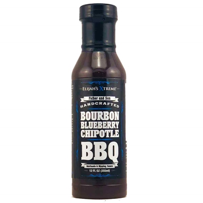 Elijah's Extreme Bourbon Infused Blueberry Chipotle BBQ