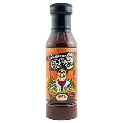 Torchbearer Pineapple Papaya BBQ Sauce