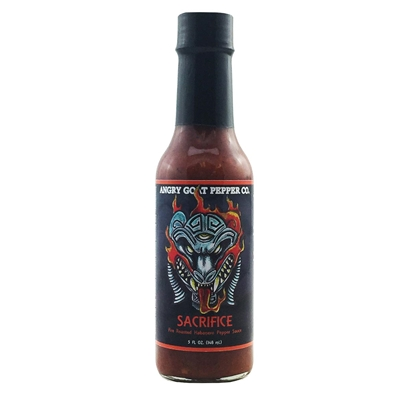 Angry Goat Pepper Co. Sacrifice Hot Sauce