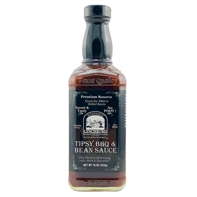 Historic Lynchburg Tennessee Whiskey Tipsy BBQ & Bean Sauce